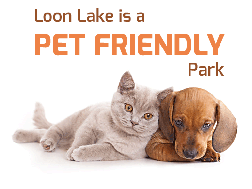 Loon Lake is Pet Friendly