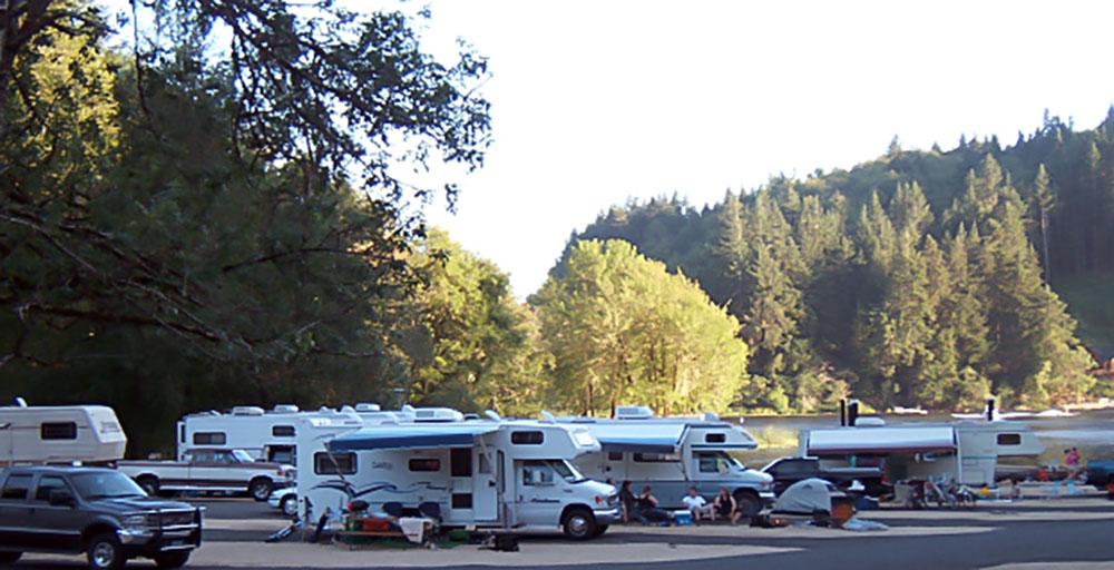 Oregon Coast RV Sites   Tent Campsites