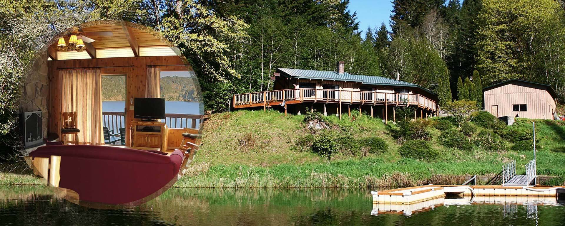 Loon-Lake-Lodge-Premium-waterfront-house-for-groups-and-large-families